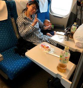 新幹線内ABC席